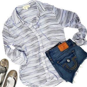 Cloth & Stone striped button down